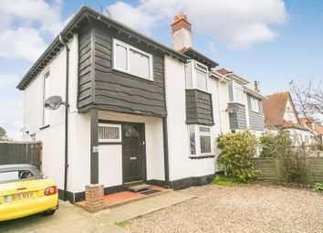 Thumbnail 3 bed semi-detached house for sale in West Hill Road, Herne Bay, Kent