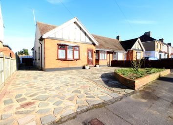 Thumbnail 2 bed bungalow for sale in Derham Gardens, Upminster