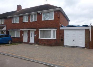Thumbnail 3 bed property to rent in Hathersage Road, Great Barr, Birmingham
