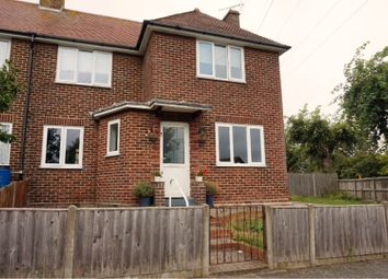 Thumbnail 2 bed semi-detached house for sale in Church Road, Folkestone