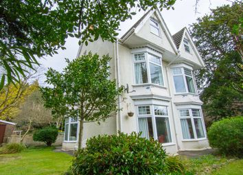 Thumbnail 6 bed detached house for sale in Gower Road, Sketty, Swansea