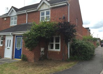 Thumbnail 2 bed semi-detached house to rent in Impey Close, Leicester