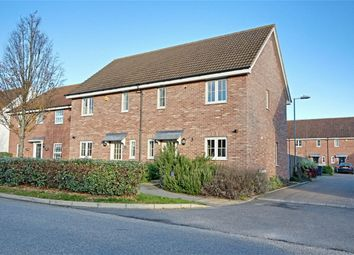Thumbnail 3 bed semi-detached house for sale in Warwick Road, Little Canfield, Dunmow, Essex