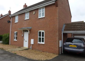 Thumbnail 3 bed detached house to rent in Cunningham Road, Peterborough