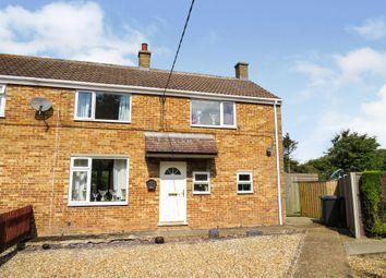 Thumbnail 3 bed semi-detached house for sale in Glebe Estate, Tilney All Saints, King's Lynn