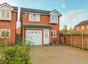 Thumbnail 3 bed detached house for sale in Cresset Close, Stanstead Abbotts, Ware