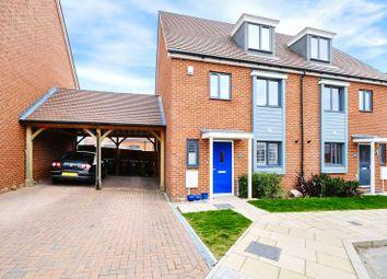 Thumbnail 4 bed semi-detached house for sale in Motte Lane, Castle Hill, Ebbsfleet Valley, Swanscombe