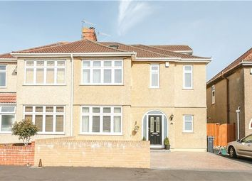 Thumbnail 4 bed semi-detached house for sale in Manor Road, Bishopsworth, Bristol