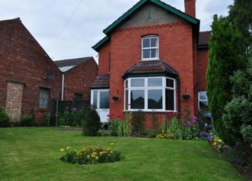 Thumbnail 3 bed detached house for sale in Lincoln Road, Saxilby, Lincoln, Lincolnshire