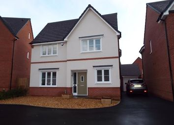 Thumbnail 4 bed detached house for sale in Moss Wood Court, New Broughton, Wrexham, Wrecsam