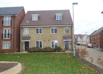 Thumbnail 3 bed semi-detached house for sale in Ascension Gardens, Newton Leys, Milton Keynes, Bucks