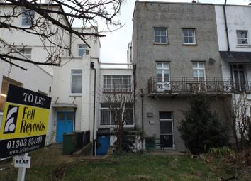 Thumbnail 2 bed flat to rent in Pleydell Gardens, Folkestone