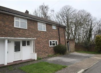 Thumbnail 4 bed semi-detached house for sale in Fort Road, Halstead, Sevenoaks, Kent