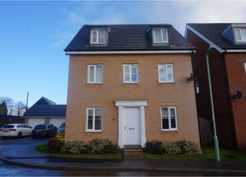 Thumbnail 5 bedroom detached house for sale in Wagtail Drive, Stowmarket