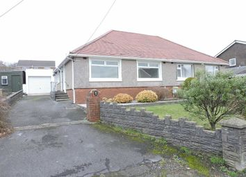 Thumbnail 2 bed semi-detached bungalow for sale in Heol Y Plas, Fforest, Pontarddulais