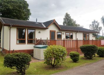 Thumbnail 2 bed mobile/park home for sale in Station Road, Crieff