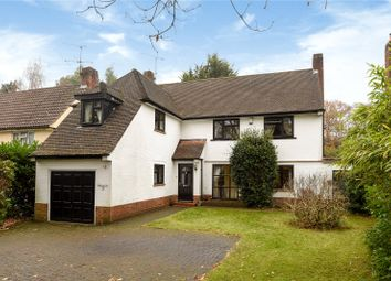 Thumbnail 4 bed detached house for sale in Heatherdale Road, Camberley, Surrey