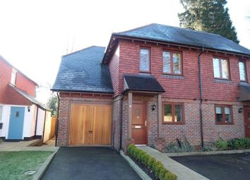 Thumbnail 3 bed semi-detached house to rent in Clenches Farm Road, Sevenoaks