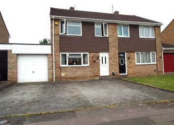 Thumbnail 3 bed semi-detached house for sale in Bridle Drive, Clapham, Bedford, Bedfordshire