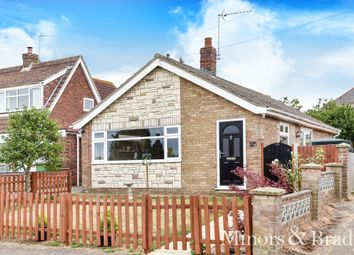 Thumbnail 2 bed detached bungalow for sale in Peartree Avenue, Martham, Great Yarmouth