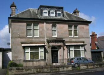 Thumbnail 2 bed flat to rent in Victoria Road, Gourock