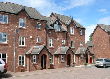 Thumbnail 3 bed town house to rent in Sutton Close, Nantwich