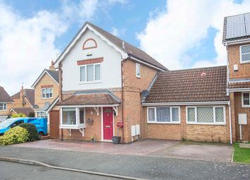 Thumbnail 4 bed link-detached house for sale in Hempland Close, Great Oakley, Corby