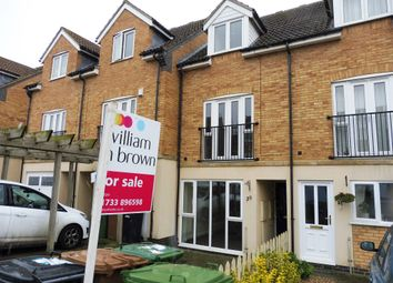 Thumbnail 3 bedroom town house for sale in St Katherines Mews, Hampton Hargate, Peterborough
