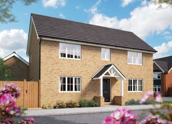 "Thumbnail 4 bed detached house for sale in ""The Millow"" at Campton Road, Shefford"