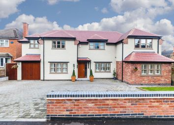 Thumbnail 4 bed detached house for sale in Garats Hay, Forest Road, Woodhouse, Loughborough