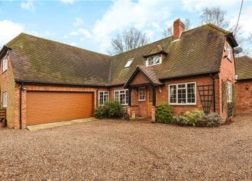 Thumbnail 4 bed detached house for sale in School Road, Hurst, Reading