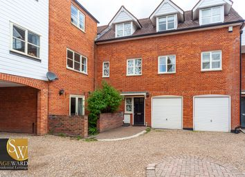 Thumbnail 3 bed town house to rent in Railway Street, Hertford