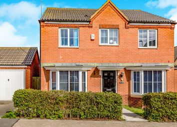 Thumbnail 4 bedroom detached house for sale in Jay Road, Corby