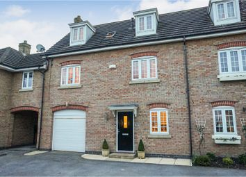 Thumbnail 4 bed town house for sale in Carnoustie Drive, Lincoln