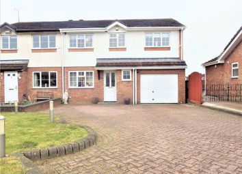 Thumbnail 4 bed semi-detached house for sale in Albury Close, Luton