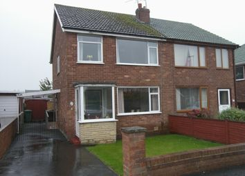 Thumbnail 3 bed semi-detached house for sale in Blenheim Drive, Warton, Preston