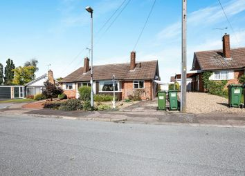 Thumbnail 2 bed semi-detached bungalow for sale in Orchard Close, Leicester