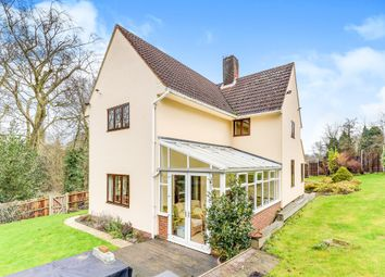 Thumbnail 4 bed detached house for sale in London Road, Royston