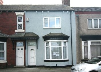 Thumbnail 3 bed terraced house to rent in Victoria Road, Stockton On Tees