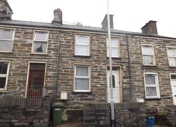Thumbnail 2 bed terraced house for sale in Manod Road, Blaenau Ffestiniog, Gwynedd