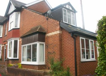 Thumbnail 2 bed semi-detached house to rent in West Grove Road, St. Leonards, Exeter