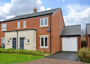 Thumbnail 3 bed semi-detached house for sale in The Cloisters, Hawksyard, Rugeley