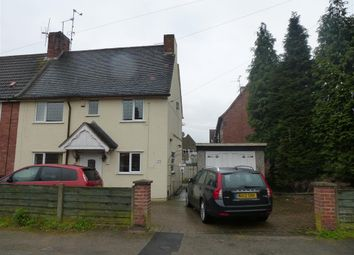 Thumbnail 3 bed terraced house to rent in Church Road, Clipstone Village, Mansfield