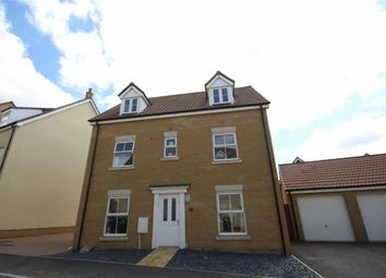 Thumbnail 5 bedroom detached house for sale in Truscott Avenue, Swindon, Wiltshire