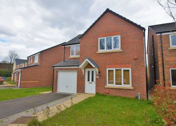 Thumbnail 4 bed detached house for sale in Millfield Park, Golborne, Warrington