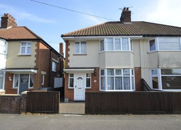 Thumbnail 3 bedroom semi-detached house for sale in Cornwall Road, Felixstowe