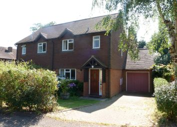 Thumbnail 3 bed semi-detached house to rent in Eggars Field, Bentley, Farnham