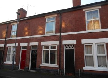 Thumbnail 1 bed terraced house to rent in Roman Road, Derby