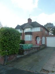 Thumbnail 3 bed semi-detached house to rent in Jacey Road, Edgbaston, Birmingham