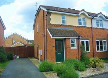 Thumbnail 3 bed semi-detached house for sale in Wakes Close, Bourne, Lincolnshire